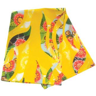 Folded tea towel.