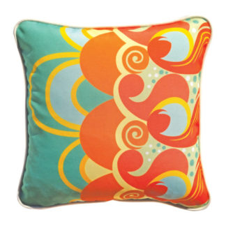 Cushion cover with grevillea design